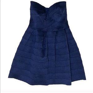 LIKE NEW Sans Souci Navy Wrap Dress Med